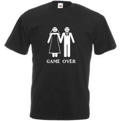 T-shirt Futur Marié Game Over