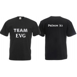 T-shirt Team EVG à personnaliser