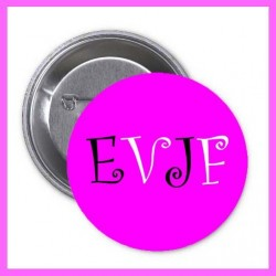 Badge rose EVJF