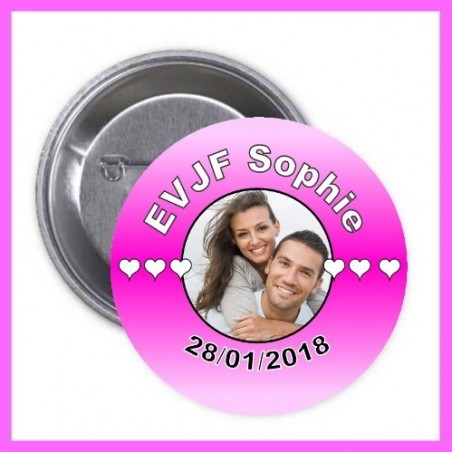 Badge EVJF à personnaliser