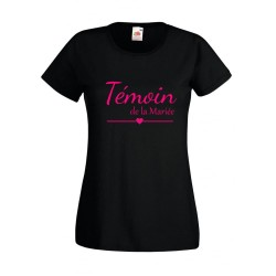 tshirt témoin EVJF grande taille