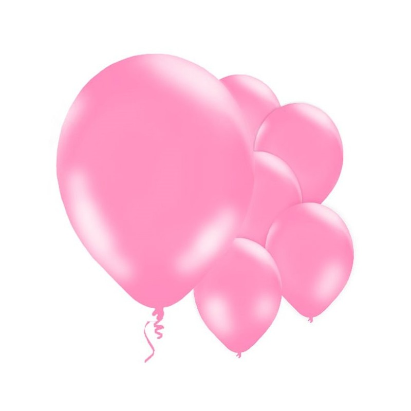 ballons rose baby shower