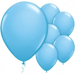 ballons bleues baby shower déco