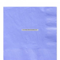 serviettes bleu baby shower