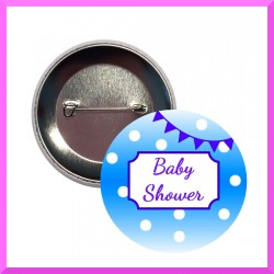 badge baby shower